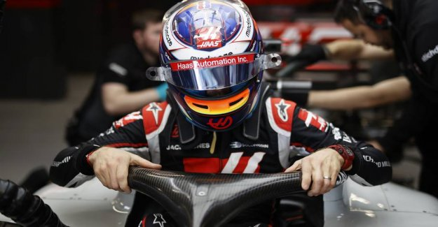 Unimaginable testtal: Grosjean ended with the crash