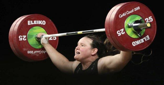 Vægtløftningsballade: Transkvinde makes people angry