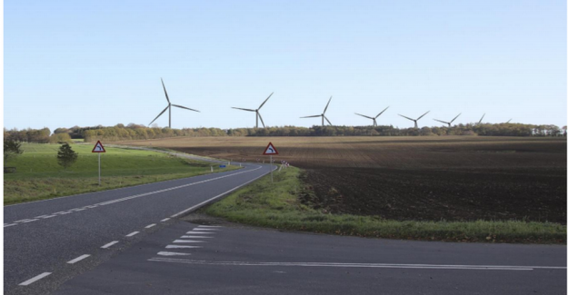 Wind turbine-anger: It blows almost not in Viborg