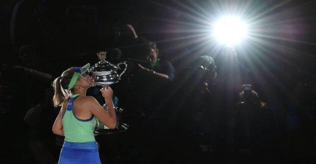 Young american wins Australian Open