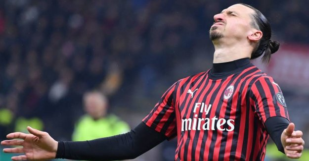 Zlatan out of action because of the nine year old case