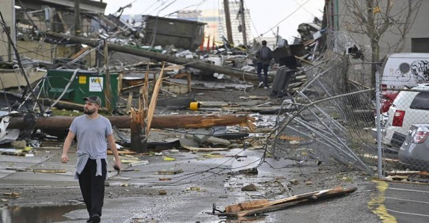 19 persons killed by tornado in the UNITED states