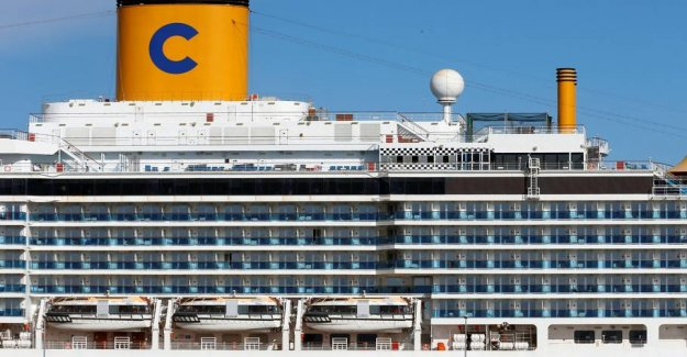 50 people caught on coronaramt ship out for France