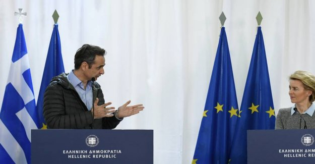 700 million euro and 100 additional border guards to Greece