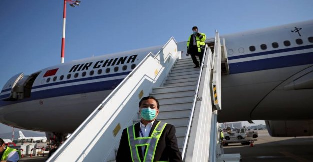 Air passengers to Beijing need along the way to be tested for corona