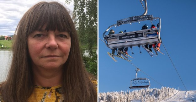An appeal from the county of Dalarna, close down ski resorts
