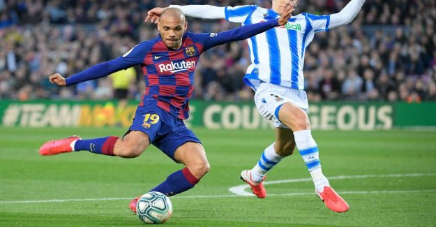 Applause to Braithwaite in the narrow Barça victory