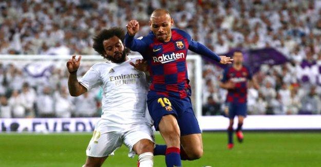 Barcelona lose El Clásico - Braithwaite unlucky at the first goal