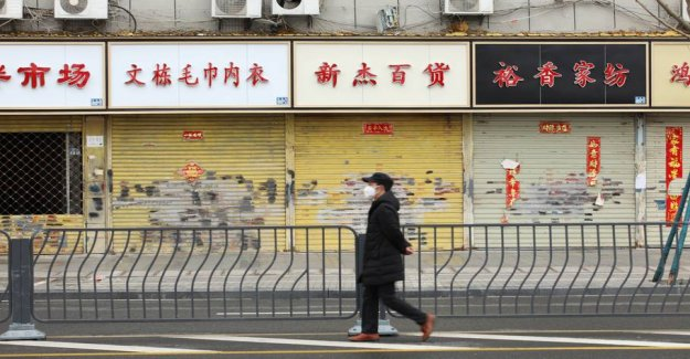 China's economy bleeds as a result of coronavirussen