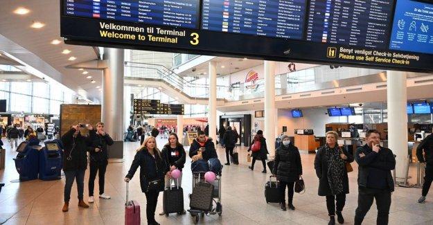 Copenhagen Airport hjemsender over half of its employees