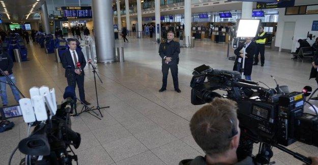 Copenhagen Airport: the Police are massively present in the future
