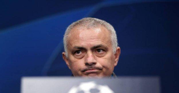 Crashes pouring down over Mourinho