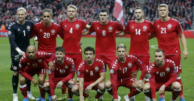 Denmark meet England, Belgium and Iceland in the Nations League