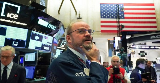 Despite the decline in interest rates: the stock Exchanges in the UNITED states closes with the new nosedive
