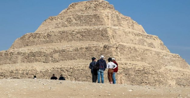 Egypt's oldest pyramid reopens after 14 years