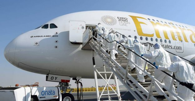 Emirates sets all passenger flights from 25. march