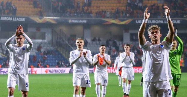 FCK can end in the six-day ill-tempered quarter-finals