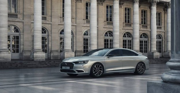 French luxury car to compete with the German giants