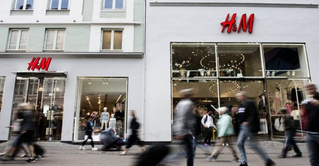 H&M closes all of its stores in Denmark temporarily