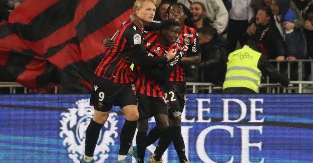 Kasper Dolberg will be twice the goal scorer and match winner for Nice