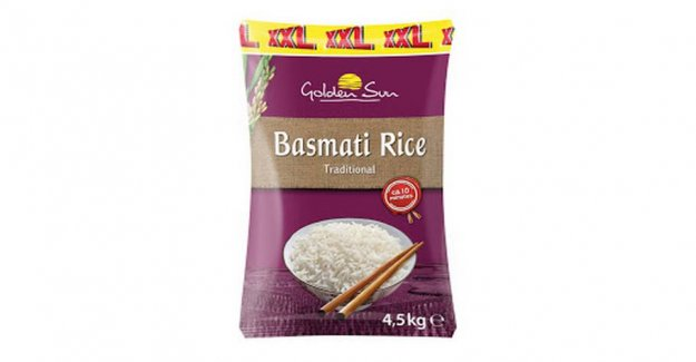 Lidl is recalling rice sold in the whole country