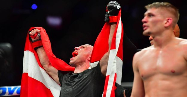 Mark O. Madsen will keep the record and wins the UFC fight