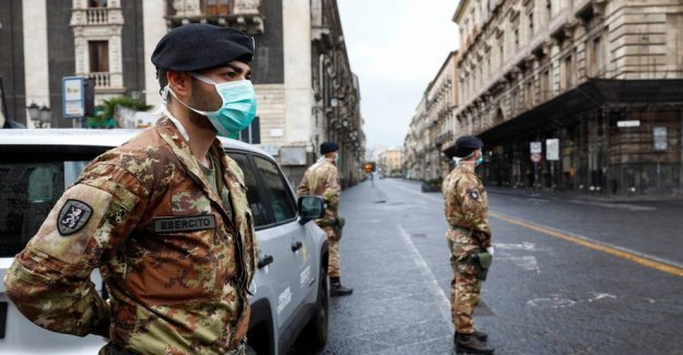 Most difficult crisis since the 2. World war ii: Now, close Italy even more down