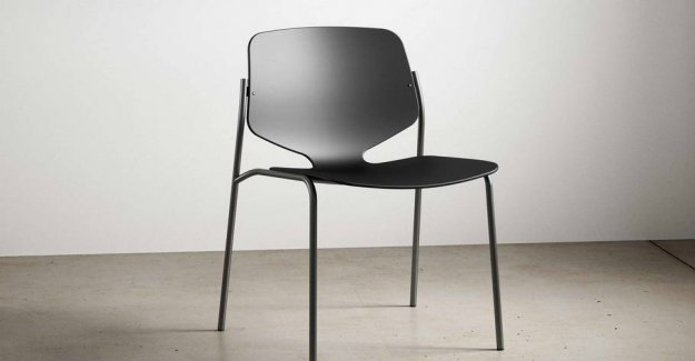 New luxury hotel designer chairs of 2.2 tons of plastic waste