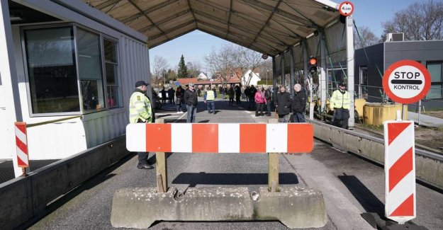 Now is the Danish borders closed to foreigners