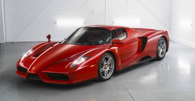 Now rare Ferrari sold: estimated at 20 million