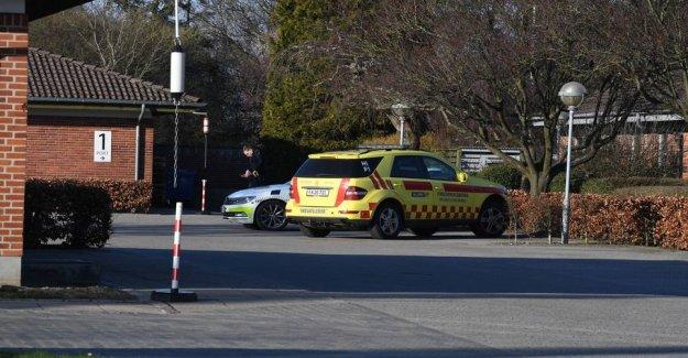 Police go out to fyrværkerifund