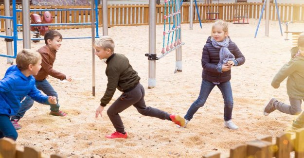 Reject the director's coronaråd: Children are allowed to play together