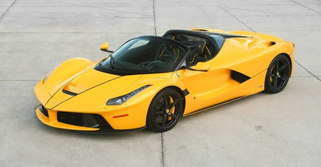 Selling Ferrari for 38 million: Can only be purchased online