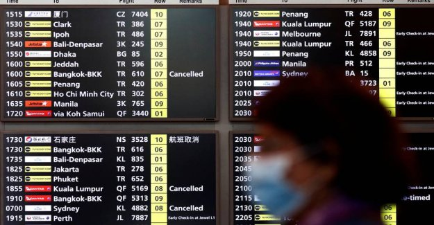 Singapore closes for the transit of many foreigners