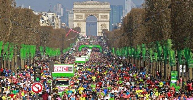 The fear of the coronavirus postpone the Paris Marathon for October