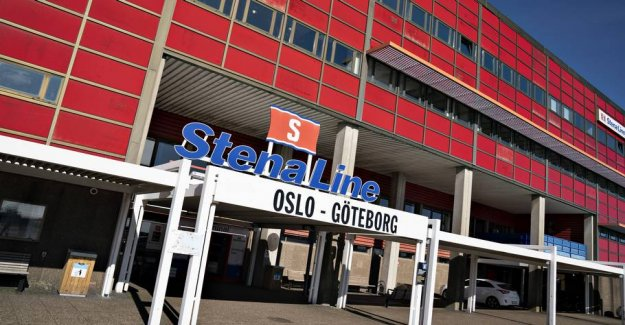 The ferry route between Frederikshavn and Oslo shuts down and turns off