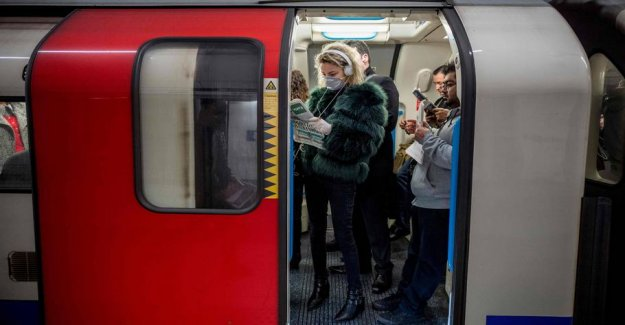 The london underground is suspected of spreading of the infection, and closes the