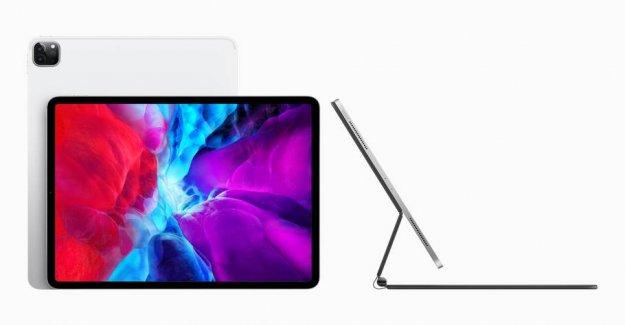 The new iPad with svinedyrt keyboard