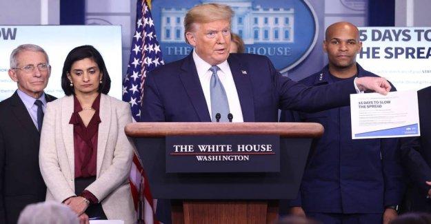 Trump: Avoid assemblies greater than 10