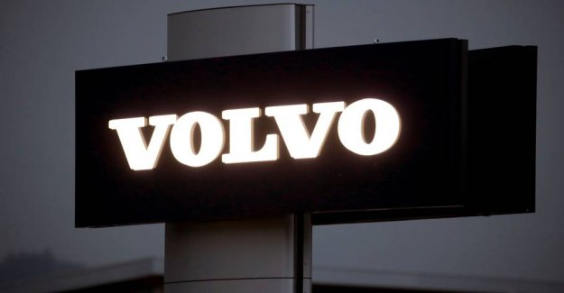 Two Volvoselskaber in Sweden sends to 45,000 employees home