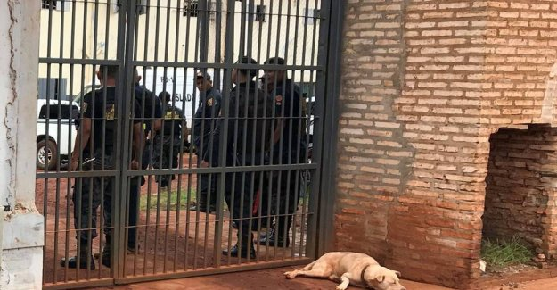 Up to 1000 prisoners have escaped from the four brazilian prisons