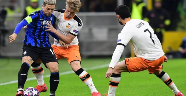 Wass and Valencia do battle for the CL-advancement behind closed doors