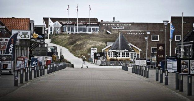 West jutland tourist towns struggling for life