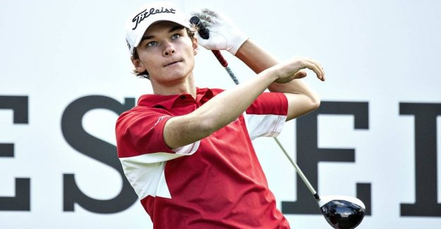 Young golfdansker put themselves in the lead in Qatar