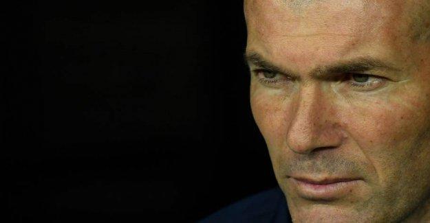 Zidane butcher its own after choknederlag