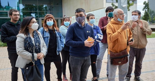 Girona: the trial of the accused of picking up the Spanish flag on the first anniversary of the 1-Or