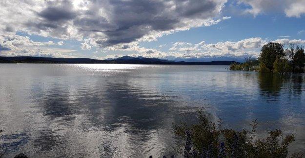 The reservoir of Aguilar de Campoo
