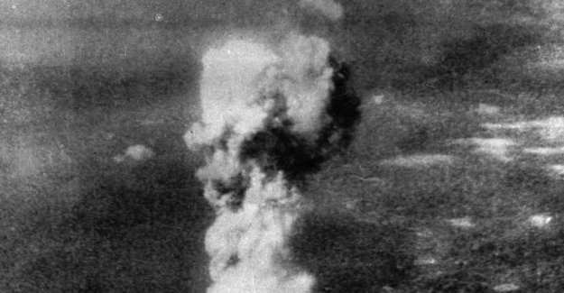 These images of the explosion of Hiroshima that were not