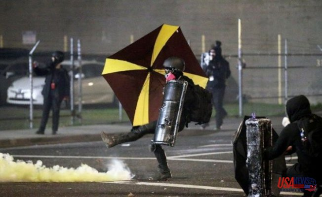 Portland rioters Harm ICE Construction; Authorities Announce'unlawful assembly'