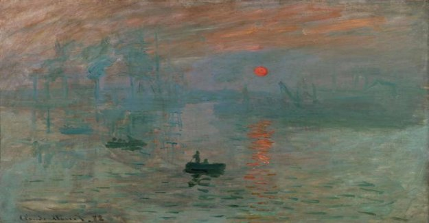 And Monet stopped the time. The volume on the painter for free with the Courier